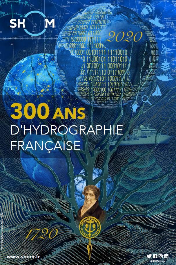 Affiche 300 ans d'hydrographie française